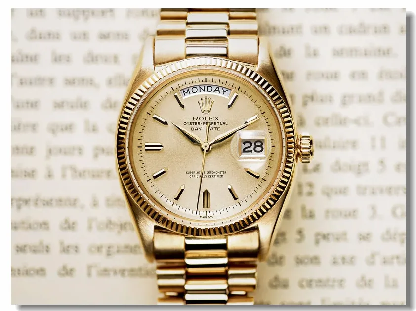 How to pull the wool over Rolex's eyes